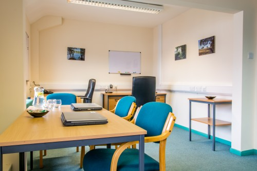 Beech Office with 200sq ft floor area. Suitable for up to 4 people. Available now.